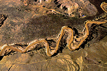 Desert River, Arizona.  1972